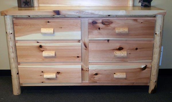 Cedar Log Dresser